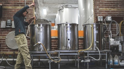 Blackrocks Brewery in Marquette, MI.