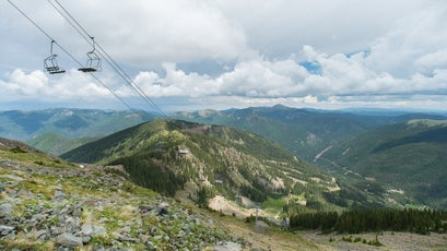 Taos Ski Valley in the summer.