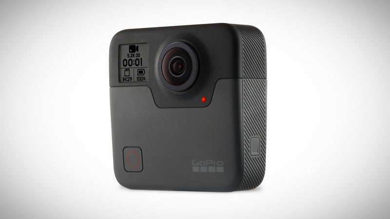 The Fusion will be a spherical 360-degree camera that shoots 5.2K footage.