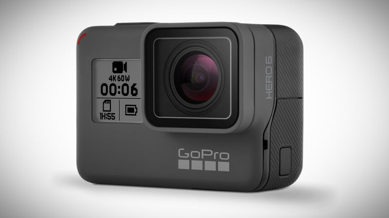 The Hero 6 shoots 4K at 60fps, and 1080p at 240fps.