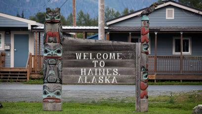 Haines is a 2,000-person town located on the Chilkat River watershed in Southeast Alaska.