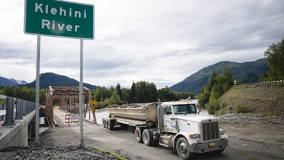 Even in its exploratory phases, mining activity can cause serious environmental destruction. New bridges and roadways built for mining access can permanently affect water flows.