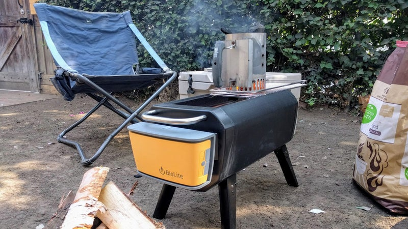 Just like any other grill, you'll have an easier time getting your charcoal going if you use a chimney. But, the FirePit's forced air induction helps speed that along, and will make starting your charcoal inside the grill reasonably painless as well.