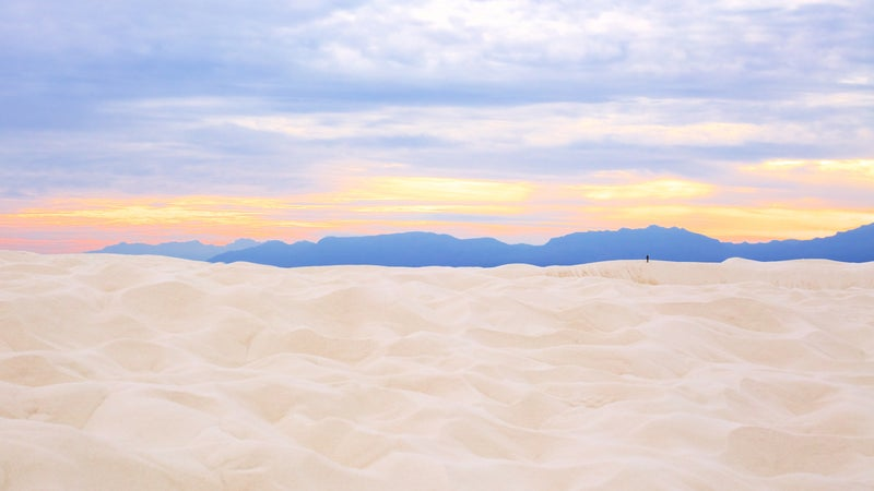 National monuments, including White Sands, have improved the economy of surrounding counties.