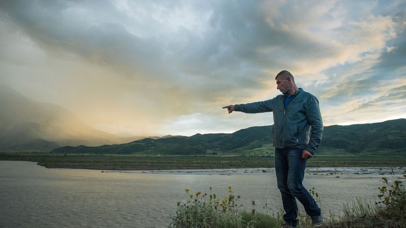 """""""If the dam is built,"""" says Taulant Hazizaj, whose village sits on the shores of the Vjosa River in Albania, """"all of that will be gone."""""""