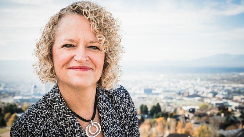 Mayor Biskupski has already pushed Salt Lake City to embrace sustainable energy, having brokered a franchise agreement with Rocky Mountain Power to develop clean-energy projects. (Louis Arevalo)