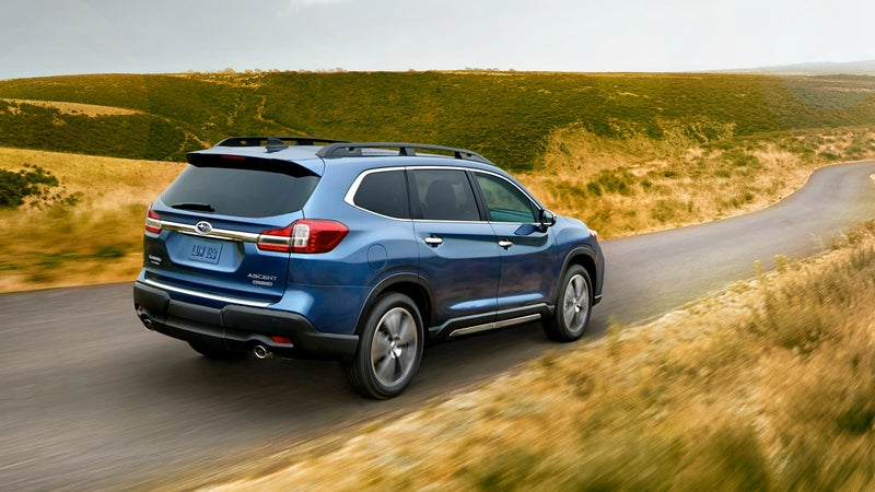 With standard safety features like AWD and semi-autonomous driver aids, the Ascent should be amongst the very safest vehicles on the road next year.