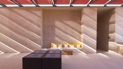 Amangiri  Entrance Lounge 1
