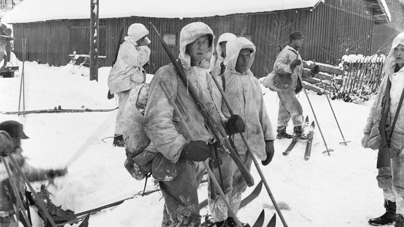 Scenes from the 1939-1940 Winter War, a confrontation between the Soviet Union and Finland.