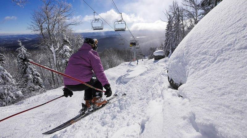 East Coast ski resorts can get crowded—but not Gore.