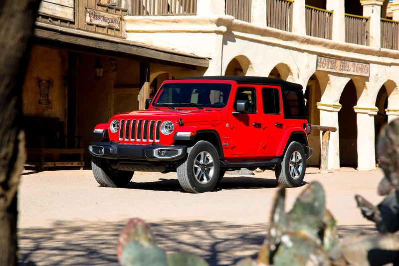 The Wrangler Sahara offers additional painted accents with more luxury on the inside and out. It's perfect for more urban buyers who want the fun of the Wrangler, and don't have the need for the Rubicon's off-road features.