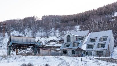 Abandoned Saibei ski resort