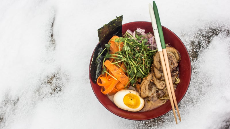 Miso Hungry at Jay Peak, Vermont