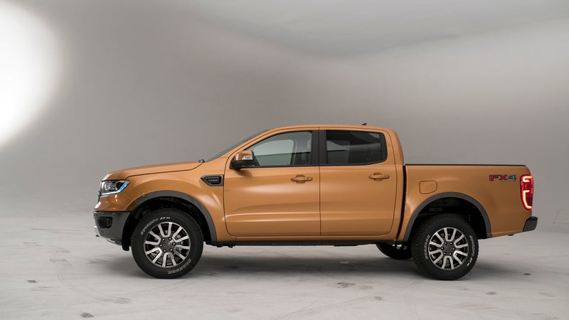 The Ranger is handsome, and inoffensive, if not overly exciting. But, for a truck that's going to be sold to clients ranging from utility companies and local governments to virtually every societal demographic, that approach makes sense.