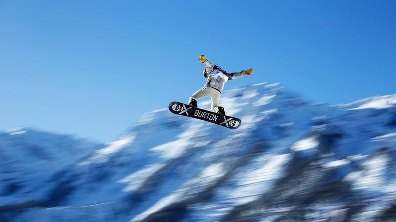 Snowboarder Shaun White