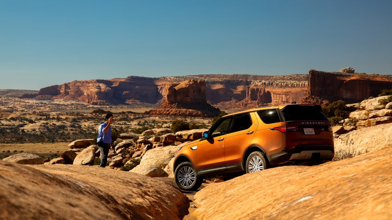 The Discovery is the most-capable seven-seat SUV out there.