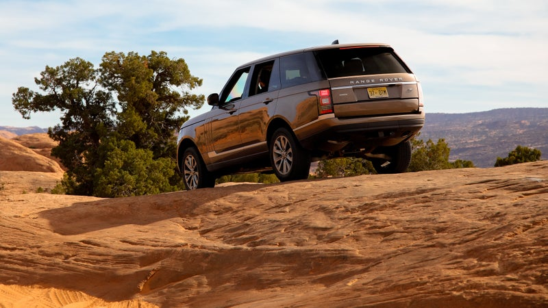 People who bought the first Range Rover way back in the '70s wouldn't look at this thing as a total alien. It's big, it's comfortable, it's luxurious, and it looks nice, but it'll still get dirty with the best of them.