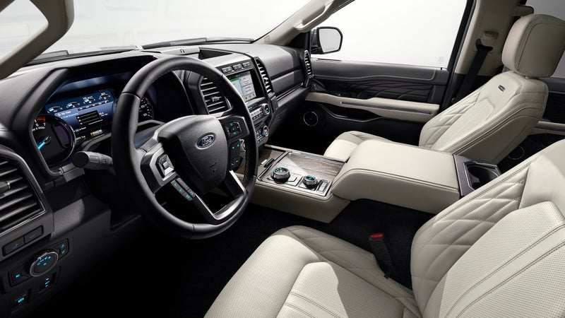 In Platinum trim, this is hands down one of the nicest car interiors I've ever seen.
