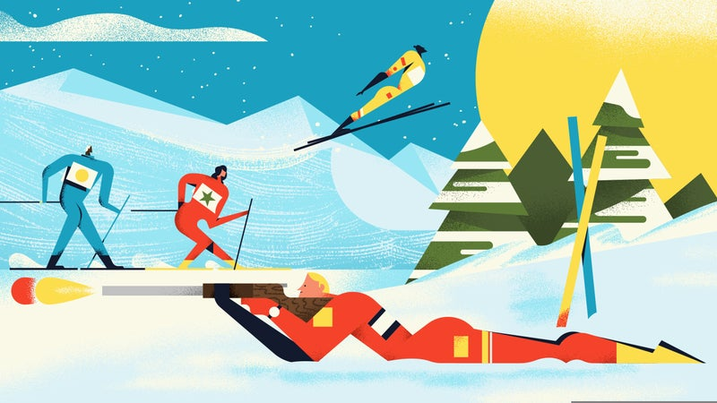 The variety of Nordic skiing sports in the Olympics can be confusing—here's your guide.