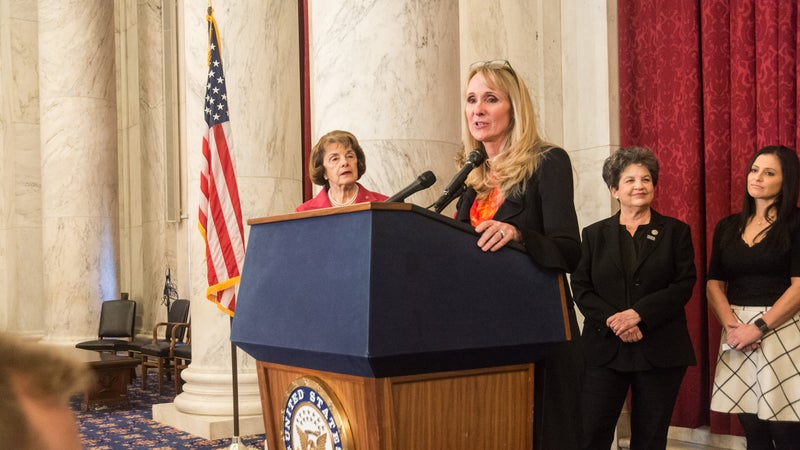 Hogshead-Makar has made it her life's work to advocate for female athletes and to bring abusers to justice.