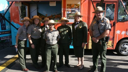 National Park Service outreach in Los Angeles.