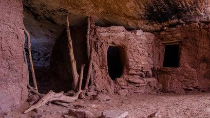 An ancestral Puebloan site in Cedar Mesa, Bears Ears.