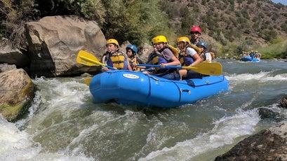 Rafting the Grande