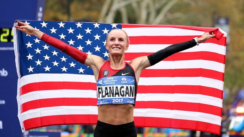 Shalane Flanagan's 2017 New York City win.