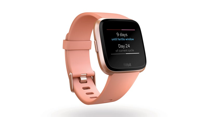 The Versa is the first fitness watch to offer women-specific health-tracking.