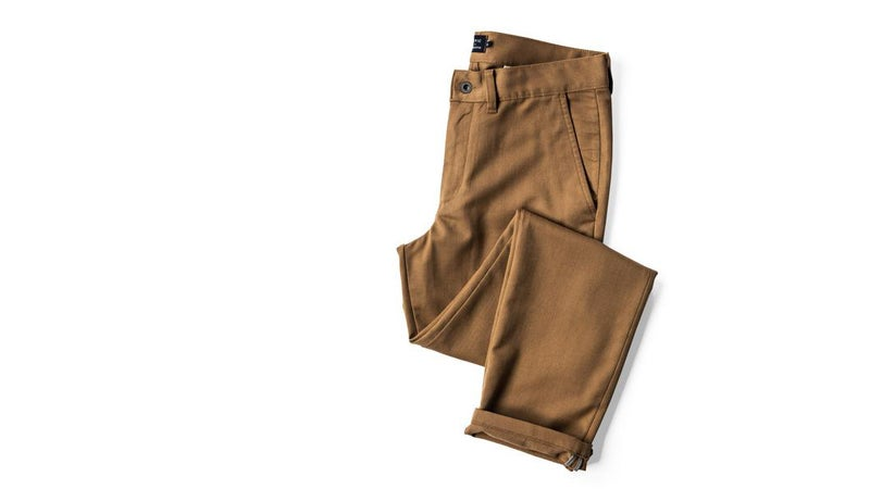 Made from a four-way stretch merino blend, Civic has just nailed the combination of style and function with these chinos. Wear these on the plain and pack no other pants, you'll be fine whatever the circumstances.