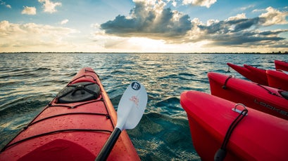 Kayaking in eastern Cuba