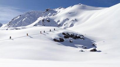 Kyrgyzstan skiing