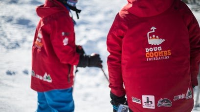 The Doug Coombs Foundation, founded by Emily Coombs in memory of her late husband, aims to provide low-income kids and their parents opportunities to enjoy the outdoors. For kids, the foundation foots the bill for everything they need to ski, from lift tickets to equipment rentals and outerwear.