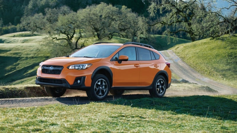 With 8.7 inches of ground clearance, the Crosstrek actually has a little more room underneath than a Jeep Grand Cherokee.