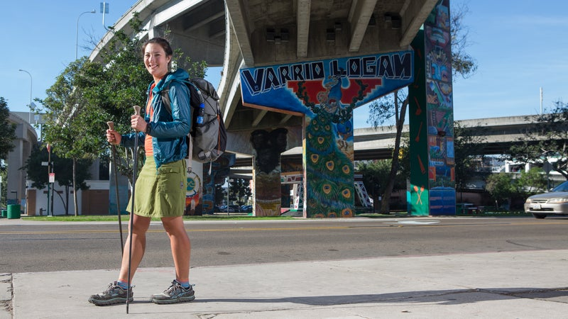 """""""I know through-hikers who walk 200 miles every summer and in the off-season sit at their desk and don't consider walking their city,"""" Thomas says."""