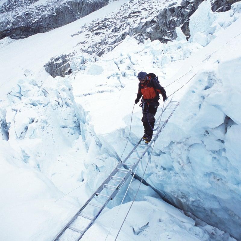 Navigating the Khumbu Icefall