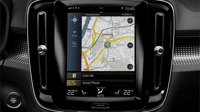 All automakers should immediately be required to remove their janky infotainment systems, and replace them with the XC40's iPad-like system. Every function is exactly where you want it to be, and works exactly how you expect it to. Zero frustration, extremely little distraction.