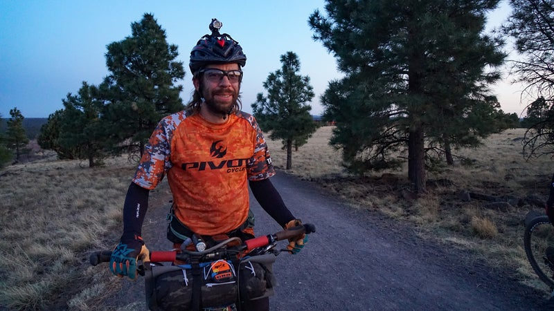 Kurt Refsnider reclaimed the record for the 760-mile AZTR