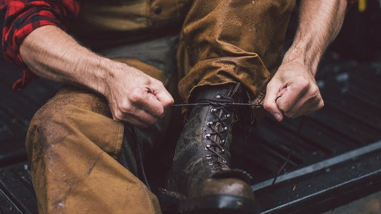 Filson makes a wide range of waxed cotton clothing and accessories for men and women.
