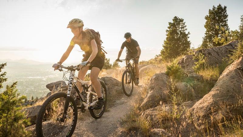 Mountain biking in Butte.