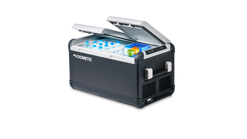 Portable fridge-freezers like this one by Dometic ($800 and up) are a big investment. But given that they last decades and allow you to reliably transport frozen food anywhere you can take a vehicle, I think they're a more worthwhile option than high-end coolers.