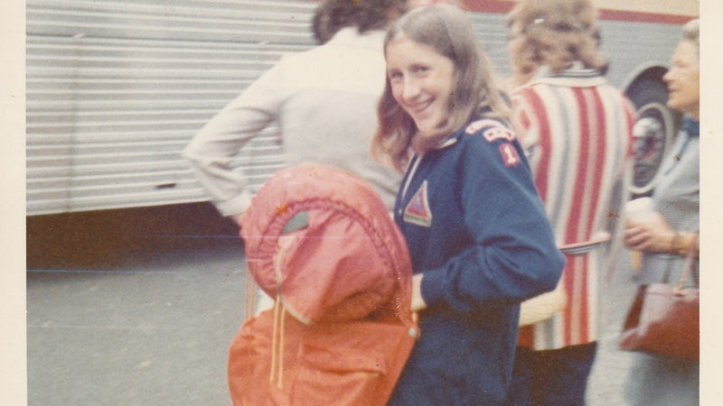 The author during her Girl Ranger years.