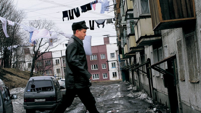 Kamchatka's rough-and-tumble capital, Petropavlovsk-Kamchatsky