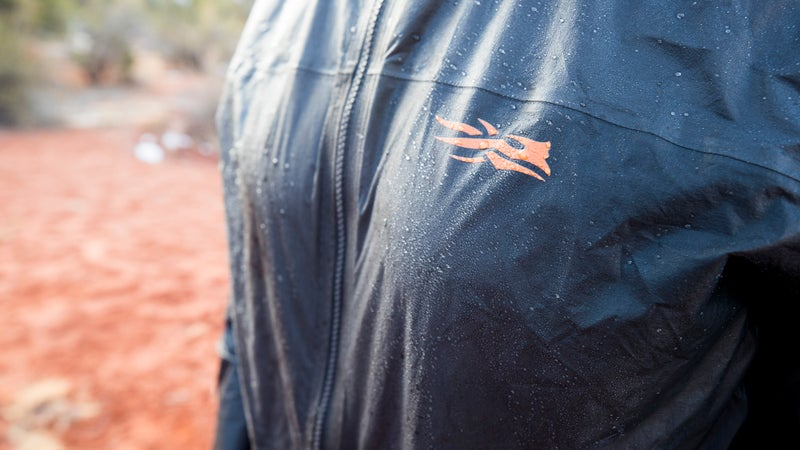 Gore and Sitka make a big deal of being able to shake the jacket dry. That's neat and all, but I'm just happy that it sheds water when it rains, and never wets out.