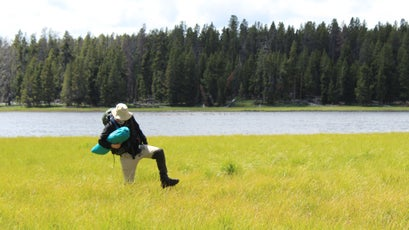 """Yellowstone's """"quaking bogs"""" feature deep and sometimes hot mud"""