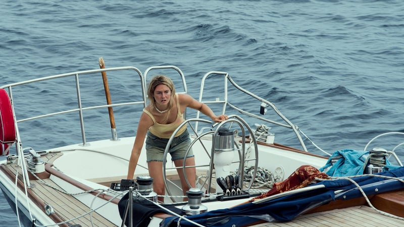 Shailene Woodley plays Tami Oldham Ashcraft, who spent 41 days at sea in a wrecked yacht.