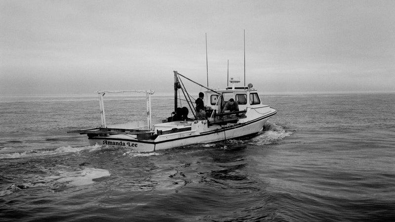 The Amanda Lee, a typical Tangler workboat