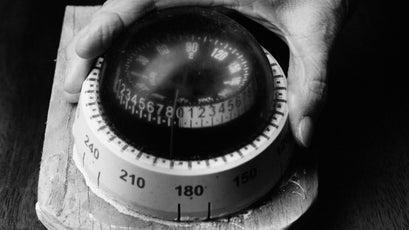 The Henrietta C.'s compass