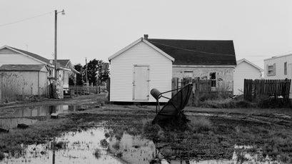 Standing water near a Tangler home