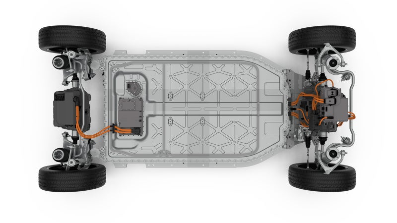Like other electric vehicles, Jaguar's skateboard chassis helps maximize internal space and allows incredible potential for other body styles to be built on top of it. We'd guess that this is just the first of several electric SUVs or evens sports cars to come from Jaguar Land Rover.